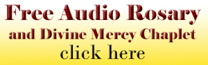 Free Audio Rosary 300x94 - A Weak Reason for Leaving the Church