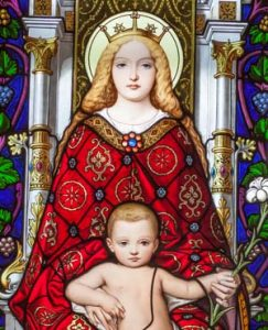 Mother and Child 243x300 - Audio Rosary Download Page